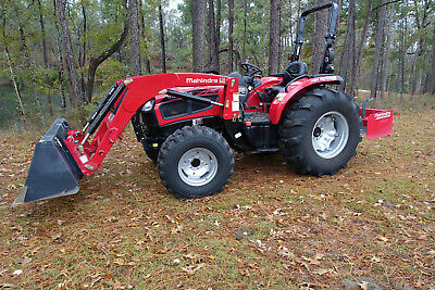 Mahindra 3550 Pst Tractor Wloader And Implements One Owner Excellent Condition