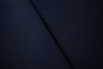 #6 Heavy Canvas Duck Navy 100% Cotton Natural Fiber 58