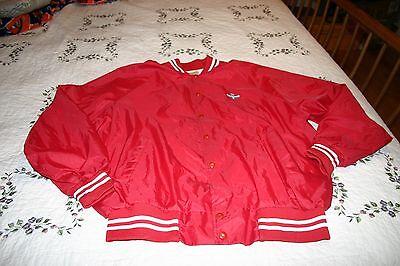 Vintage Amoco Satin Style Jacket XXL