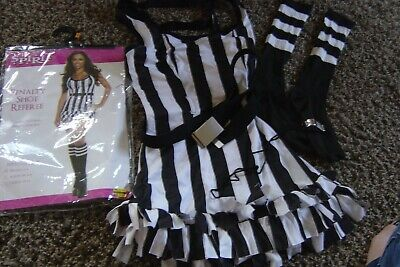Spirit Womens Sexy Penalty Shot Referee Halloween Costume S