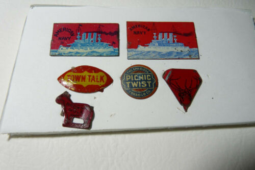 LOT of 6 TAGS MUST SEE!