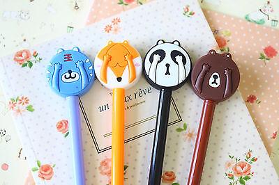Peek-a-boo Animals Pens cute cartoon ballpen jotter planner kids school supplies