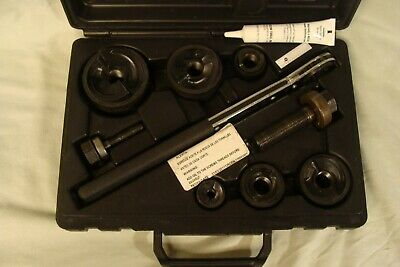 Klein Tools Knockout Punch Set With Ratcheting Wrench 53732-sen