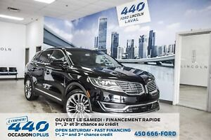2016 Lincoln MKX RESERVE | 2.7L ECOBOOST TECH PACKAGE CUIR