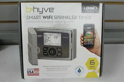Orbit B-hyve Smart WiFi Sprinkler Timer 6 Station 57946. Brand New.