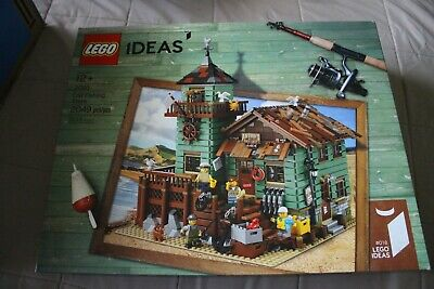 LEGO 21310 Old Fishing Store - 2017 Ideas - New In Box - Retired