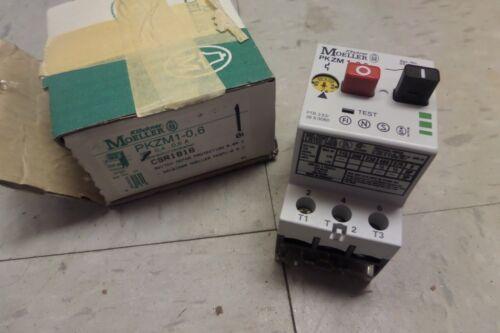Klockner Moeller Motor Protection Switch PKZM 1-0,6 PKZM1-1 New