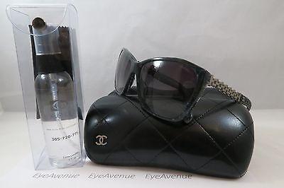 Chanel 5327-Q-A c.1527/S6 Blue Plaid/Chain New Authentic Sunglasses 59mm w/Case