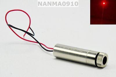 100mw Adjustable Focusable 650nm Red Laser Diode Module Dot Led Light 5v