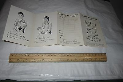 1920s 1930s SAKS FIFTH AVENUE Department Store Women Fashion BROCHURE NEW YORK