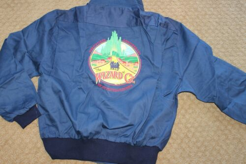 Vintage Wizard of Oz Jacket 50th Anniversary 1989 size medium Made in USA NEW