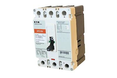 CUTLER HAMMER 30 AMP HFD CIRCUIT BREAKER 600 VAC 3 POLE HFD3030L 3 Phase