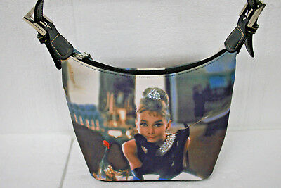 Audrey Hepburn Breakfast At Tiffany's Rhinestone Handbag Purse Bag
