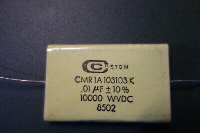 Custom .01uf 10kv 10 High Voltage Mylar Capacitor Tesla Coil