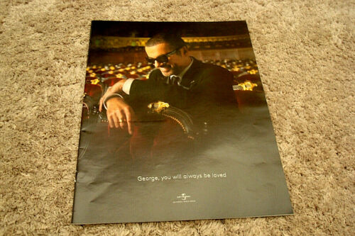 "GEORGE MICHAEL Universal tribute ad ""George, you will always be loved"" WHAM!"