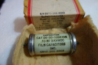 Film Capacitor Inc Mil Spec - .1uf 3000v Glass Capacitor
