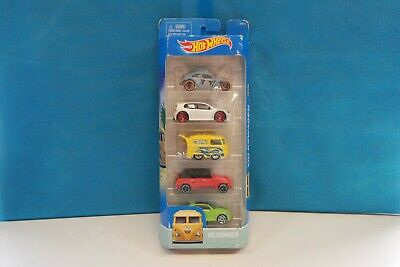 A) HOT WHEELS DJD20 VOLKSWAGON 5 PACK BEETLE,CAMPER GOLF Etc SH3