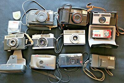 Analog Fotoaperate, Canon, Agfa, Kodak u.a. teilweise mit Tasche