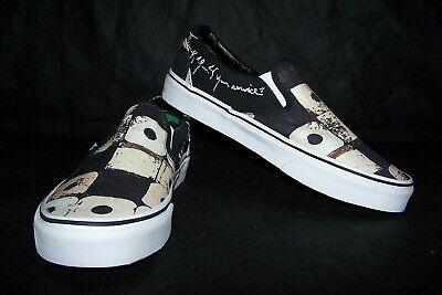 VANS Classic Slip-On (A Tribe Called Quest) Men's Skate Shoes Black NIB! NICE!
