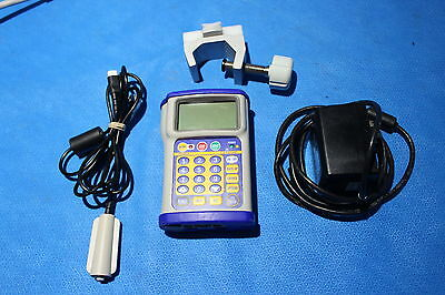 Hospira Gemstar Infusion Pump With Ac Charger Button And Pole Mounting Bracket