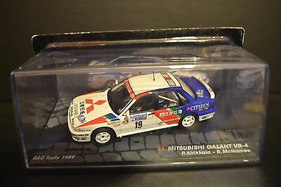 Mitsubishi Galant VR-4 RAC Rally 1989 diecast vehicle in scale 1/43