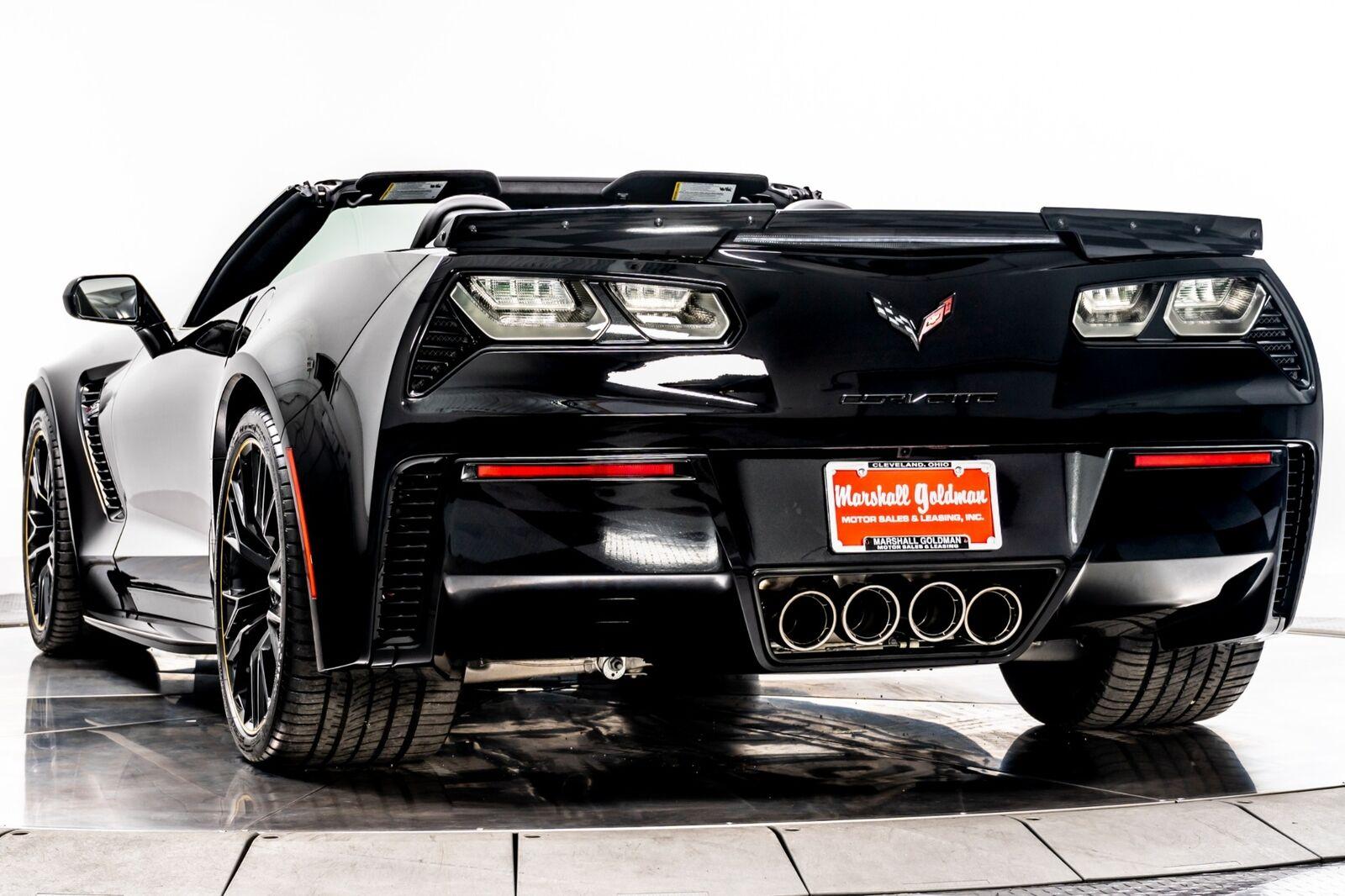 2018 Black Chevrolet Corvette Z06 3LZ   C7 Corvette Photo 6