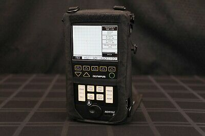Olympus Nortec 2000d Ultrasonic Flaw Detector -- Stavely Ndt Ut Good Condition