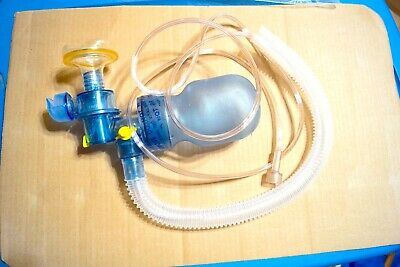 1x Infant Manual Resuscitator Ambu Bag Oxygen Tube Cpr First Aid Kit