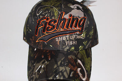 Anglerkappe Cap Kappe Mütze Camouflage Fishing Angler Mütze Angeln # 82