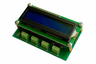 4 Channel Temperature Data Logger -55...125 C Bluetooth Ds18b20 Wireless Lcd