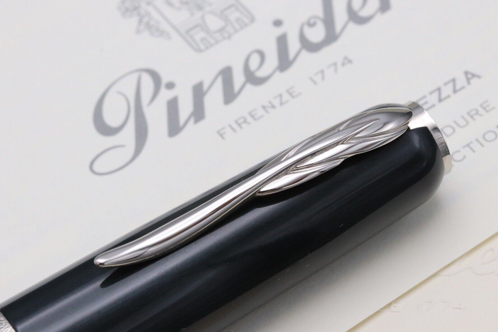 Pineider La Grande Bellezza Gemstones Hematite Grey Fountain Pen 5