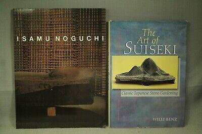 The Art of Suiseki classic Japanese Stone Gardening Isamu Noguchi lot 2 Art book