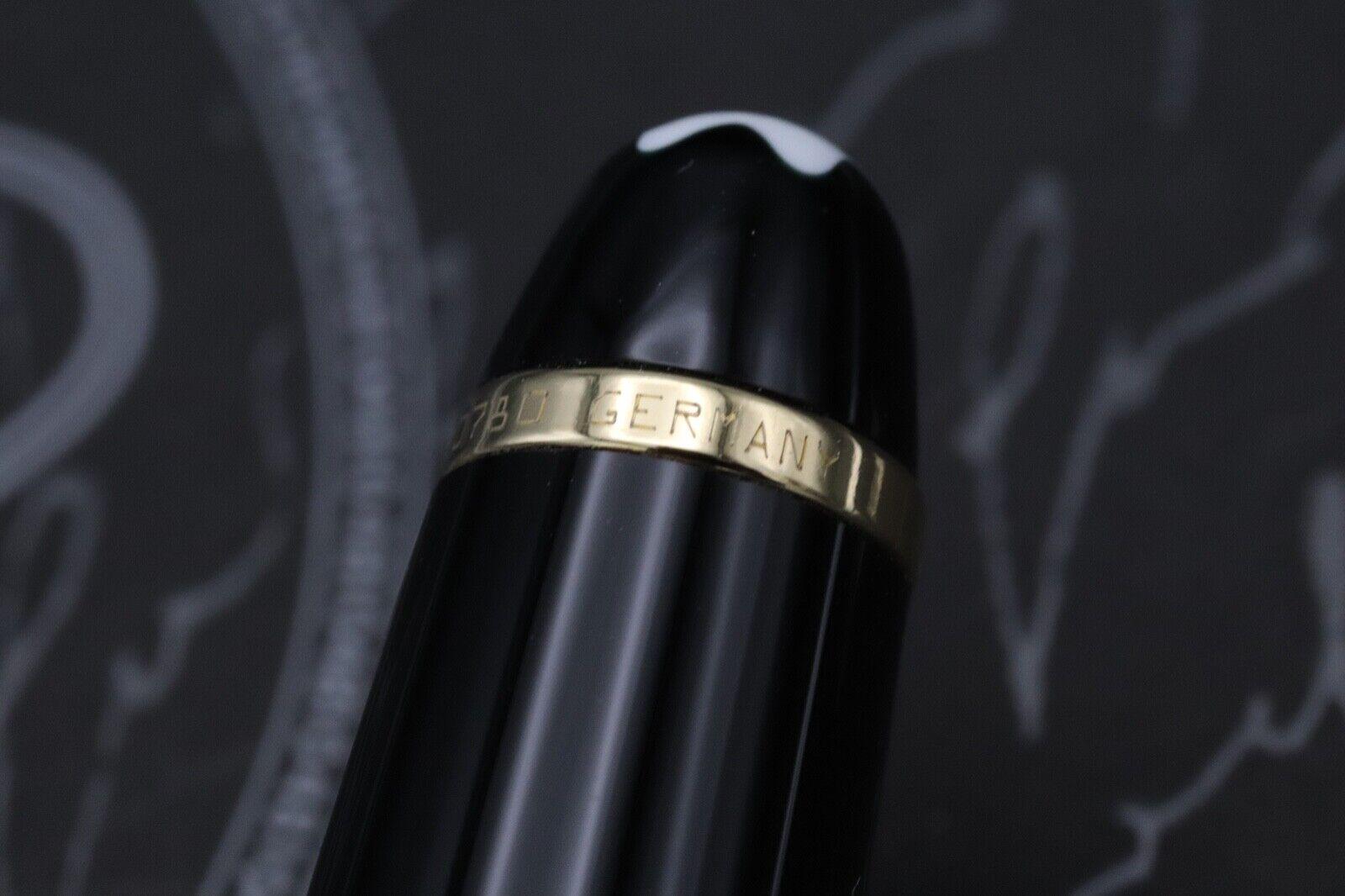 Montblanc Meisterstuck 144 Classique 'Wedding Pen' Fountain Pen 7