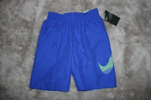 Nike Boys Board Shorts Logo Swim Trunks Blue BIG KID Size S M L XL msrp $38