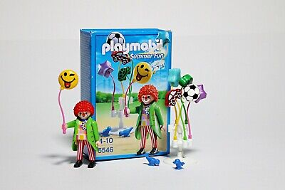Playmobil Smileyworld© Balloon Sellers 5546 Fair Ground Figures Summer Fun Boxed