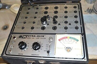 Bk Dyna-quik 500 Vacuum Tube Tester Pro Serviced