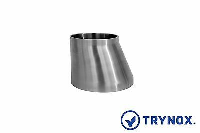 Sms 4 X 3 Sanitary Stainless Steel 316l Eccentric Welding Reducer Trynox