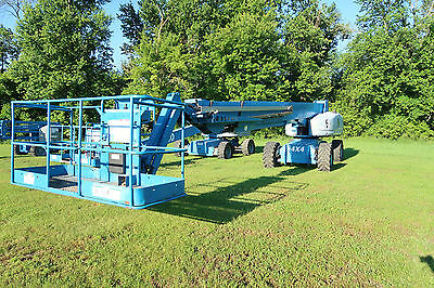 2007 Genie S-125 Boom Lift Cummins Diesel Manlift 4x4 Drive Only 1950 Hours