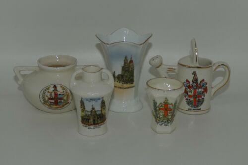 collection of 5 Melbourne Victoria Souvenirs Collins St City of Melbourne
