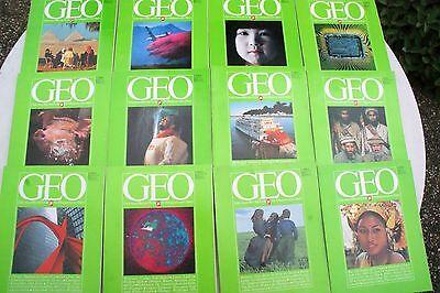 GEO-Hefte, kompletter Jahrgang 1979