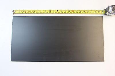 Black Abs Machinable Plastic Sheet 516 Thick X 12 X 36 Matt Finish