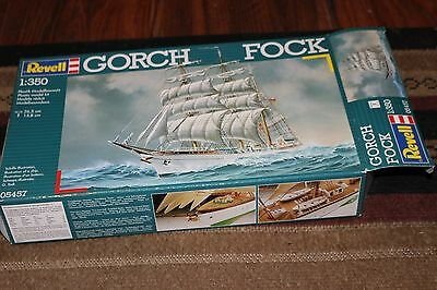 GERMAN NAVY SAILING SHIP GORCH FOCK 1/350 REVELL