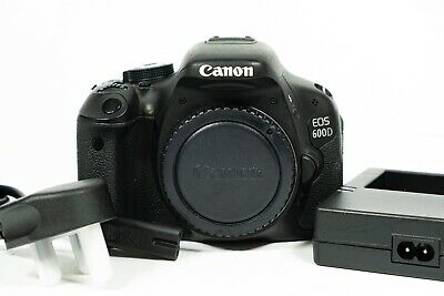 Canon EOS 600D 18.0MP HD Video Digital SLR Body Shutter Count 27,242