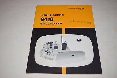 John Deere 6410 Bulldozer Operators Manual