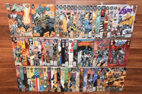 Lot 61 LOBO vol 2 DC 1993 Comic Book Incomplete Run # 0-47 Specials Annuals MORE