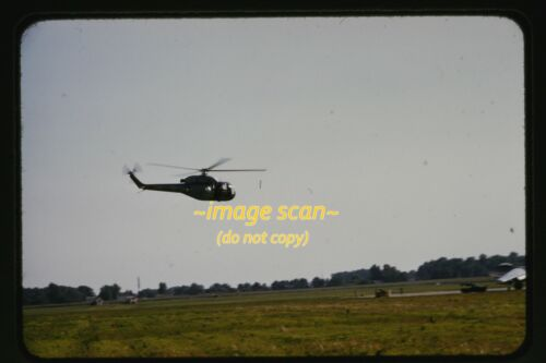 U.S. Army 92890 Sikorsky XH-39 Helicopter at WPAFB in 1954, Original Slide e15a