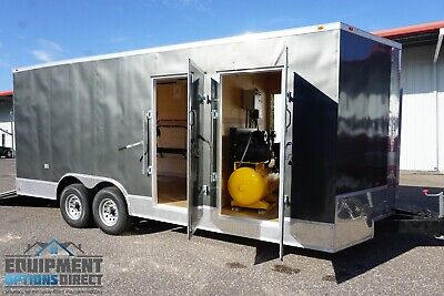 8x20 Diesel Spray Foam Trailer Turn-key Rig New - Never Used