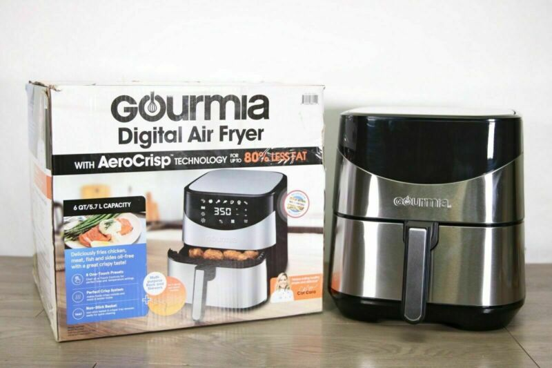 Gourmia Air Fryer Digital Multi Mode 6qt Quart AirFryer