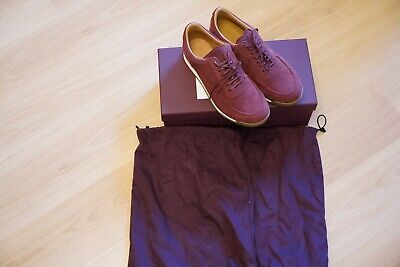Brand New John Lobb Porth Sneakers Burgundy Men Size UK 6