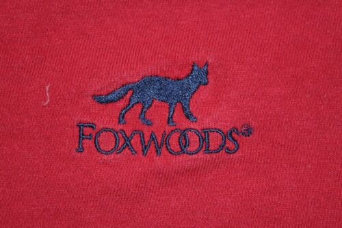 Foxwoods Tribal Casino CT Large red t shirt fox